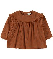 Mini A Ture Blouse - Cenia - Leather Brown