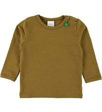 Freds World Long Sleeve Top - Dark Olive