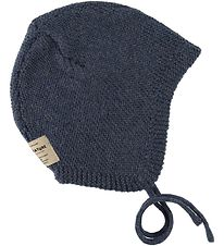 Mini A Ture Baby Hat - Filie - Wool - Peacoat Blue