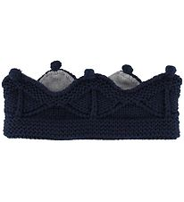 Mini A Ture Headband - Cinni - Wool/Polyester - Peacoat Blue