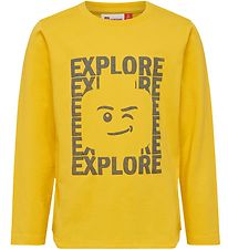Lego Wear Long Sleeve Top - Tiger - Yellow
