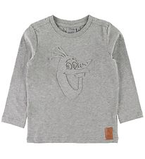 Wheat Disney Long Sleeve Top - Frozen - Grey Melange w. Olaf