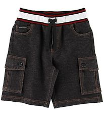 Dolce & Gabbana Shorts - Denim - Charcoal