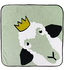 babyLivia Hooded Towel - Sonja the Sheep - 75x75 - Dusty Green