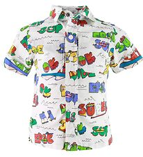 Stella McCartney Kids Shirt - Super Dude