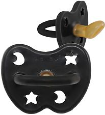 Hevea Dummy - Natural Rubber - Black w. Star/Moon