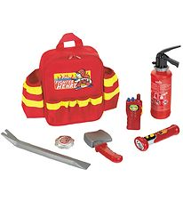 Klein Firefighters Backpack - 6pcs - Red