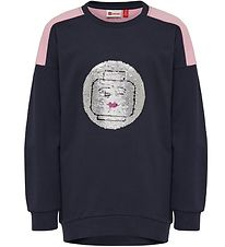 Lego Wear Sweatshirt - Tulla - Navy w. Sequins