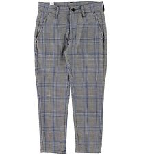 Grunt Trousers - Dude Ankle - Blue Check
