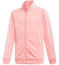 adidas Originals Track Jacket - Lock Up - Coral/White