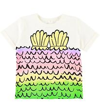 Stella McCartney Kids T-shirt - White w. Mermaid