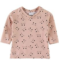 Liewood Swim Top L/S - UV50+ - Noah - Cat Rose