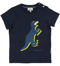 Paul Smith Baby T-shirt - Ali - Navy w. Dino