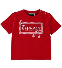 Versace T-shirt - Red w. Logo