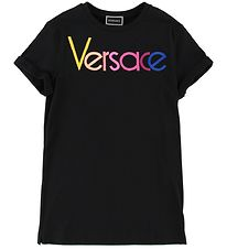 Versace Dress -Black w. Logo