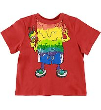 Stella McCartney Kids T-shirt - Red w. Print