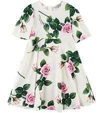 Dolce & Gabbana Dress - White/Roses