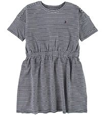 Tommy Hilfiger Dress - Navy/White Striped