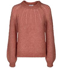 Designers Remix Jumper - Knitted - Franki - Dusty Red