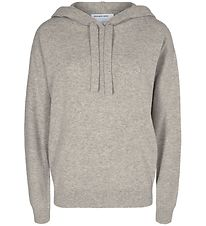 Designers Remix Hoodie - Wool/Nylon - Sterling - Grey Melange