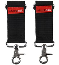 Storksak - Strollerclips For Changing Bags - Black