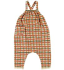 Soft Gallery Overalls - Check - Winter Wheat
