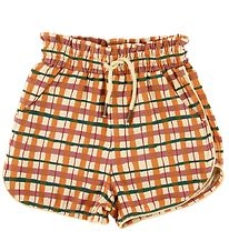 Soft Gallery Shorts - Cera - Check - Winter Wheat