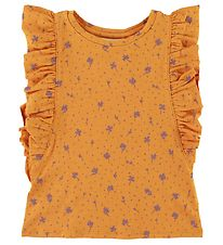 Soft Gallery T-shirt - Aylin - Clover - Sunflower