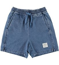 Soft Gallery Denimshorts - Alisdair - Denim Blue