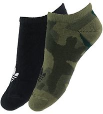 adidas Originals Ankle Socks - 2pcs - Camouflage/Black