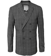 Hound Blazer - Melange Grey w. Checks