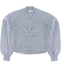 Grunt Pullover - Knit - Hedvig - Baby Blue