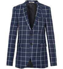 Cost:Bart Suit Jacket - Kristian - Blue Check