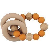Tiny Tot Rattle Teether - Mango