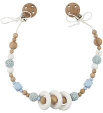 Tiny Tot Pram Chain - Pastel Blue