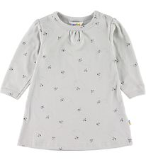 Joha Dress - Grey w. Bees