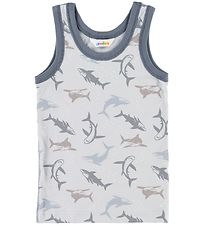 Joha Undershirt - Blue w. Sharks