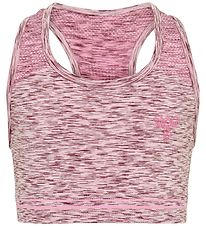 Hummel Sports Bra - HMLLullu - Mauve Shadow