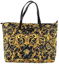 Versace Changing Bag - Black/Yellow w. Print