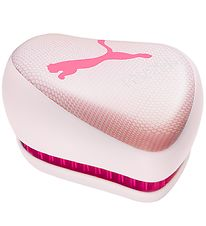 Tangle Teezer Hairbrush - On The Go - Pink Puma