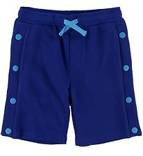 Stella McCartney Kids Sweatshorts - Blue w. Buttons