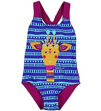 Speedo Swimsuit - Essential - Turquoise/Blue w. Pattern