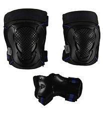 Head Protection Set - S - Black/Blue