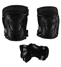 Head Protection Set - S - Black/Grey