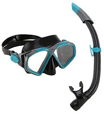 Aqua Lung Snorkeling Set - Combo Hawkeye/Pike Adult - Black/Gree