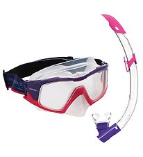 Aqua Lung Snorkeling Set - Combo Versa Adult - Pink/Purple