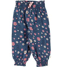 Minymo Trousers - Bering Sea w. Flowers