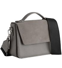 Markberg Shoulder Bag - Kamaya Suede Mix - Stone Grey