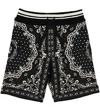 Dolce & Gabbana Sweatshorts - DNA - Black/White