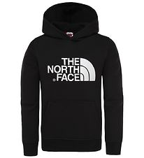 The North Face Hoodie - Black w. Logo